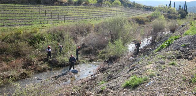 Nettoyage Berre, le 29 mars 2012