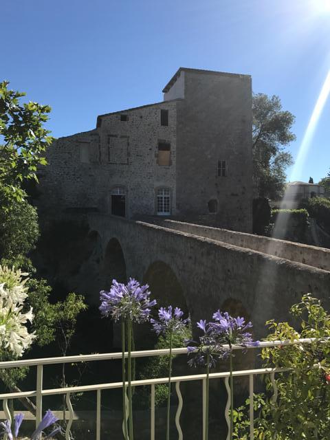 Vue château Jardins Mengaud