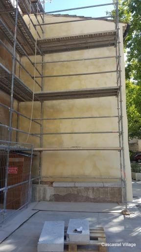 Retour de façade maison Raynaud
