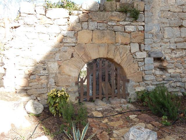 Four à minerai, Château de cascastel