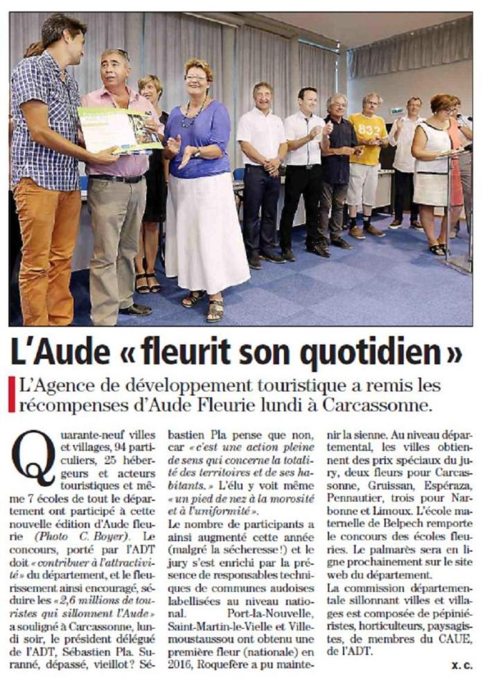 Aude Fleurie 2016
