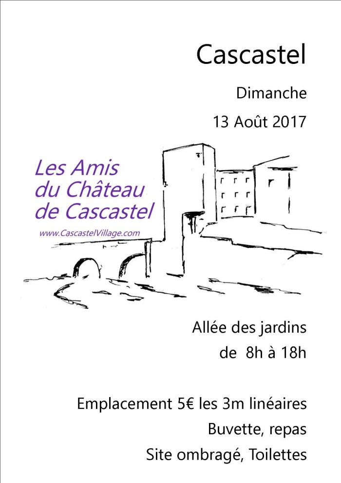 Amis du Château, Vide Grenier 2017
