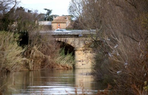 Pont de Villedaigne, Décembre 2014