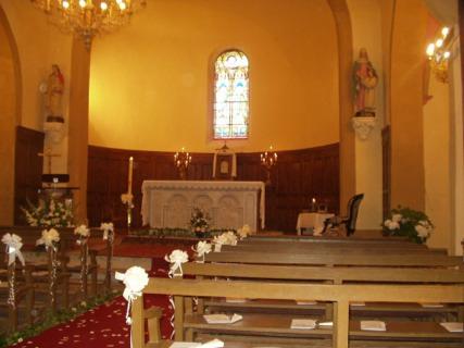 église mariage Pierre Mengaud