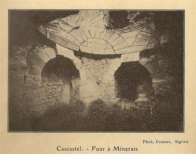 Cascastel, Four à minerais