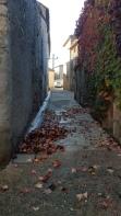 Le vent et la pluie démontent le décor de l'automne