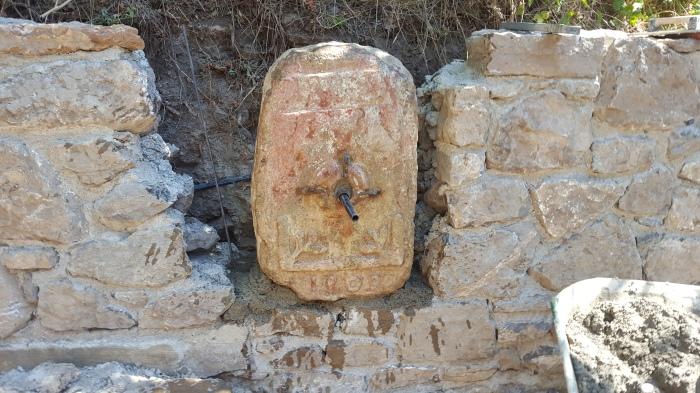 Fontaine fraîche, ancien griffon 1809