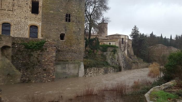Sous l'église et le Château,  27 Janvier 2017, 16h