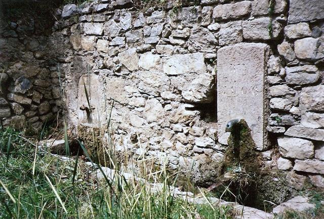 Fontaine fraîche, dans les années 1960