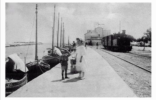 Port La Nouvelle, Le terminus du tramway de l'Aude à la plage