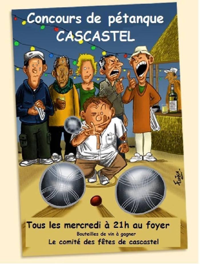 Concours de Pétanque Cascastel 2015