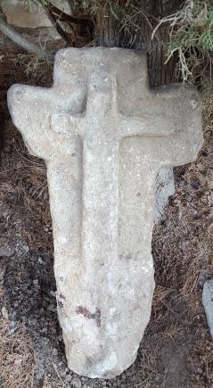 Cimetière Croix sculptée