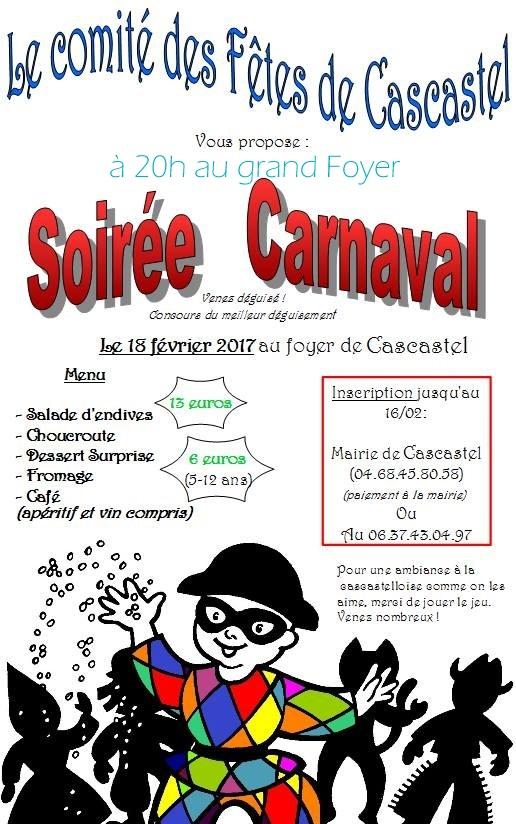 Comité des Fêtes Carnaval 2017
