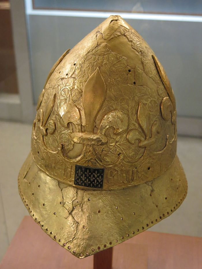 Chapel doré de C harles VI (roi 1380-1422)