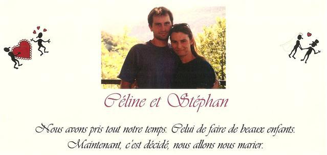 Mariage Céline Cournède, Stéphan Louche