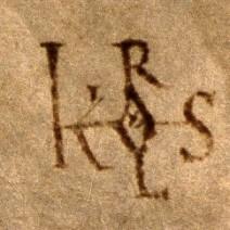 Monogramme Charles le chauve