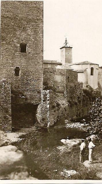 Tour Cascastel, vers 1950