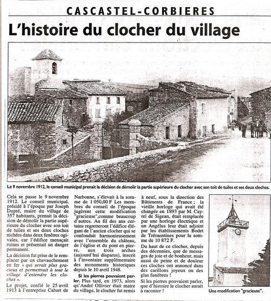 Histoire du Clocher