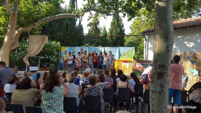 Mardi 3 Juillet , Fête des Ecoles à Cascastel