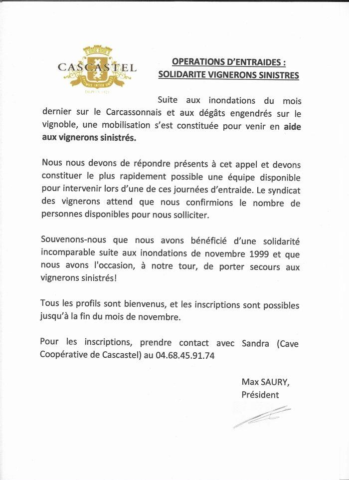 2018-11-28-Appel Solidarité Sinistrès Aude