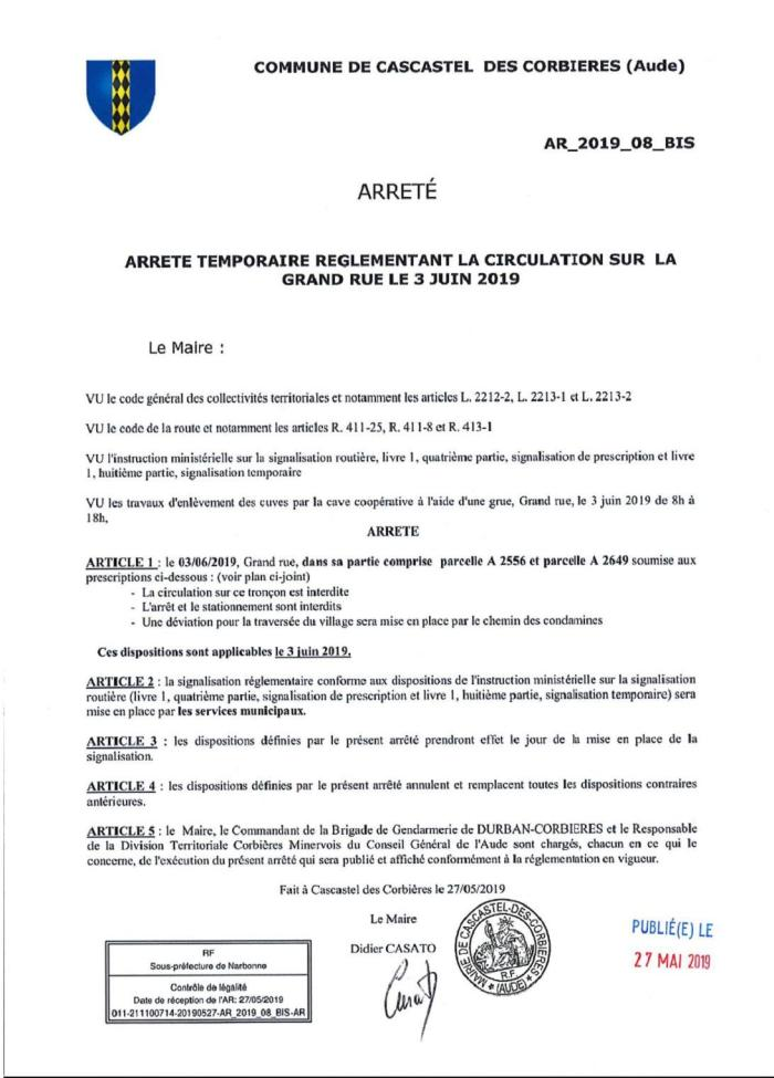 2019-05-29-ARRETE CIRCULATION 3 JUIN 2019-1
