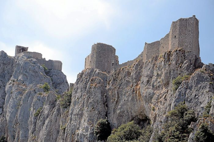 PHOTO/CHRISTOPHE BARREAU/CHATEAU DE PEYREPERTUSE UNENARB