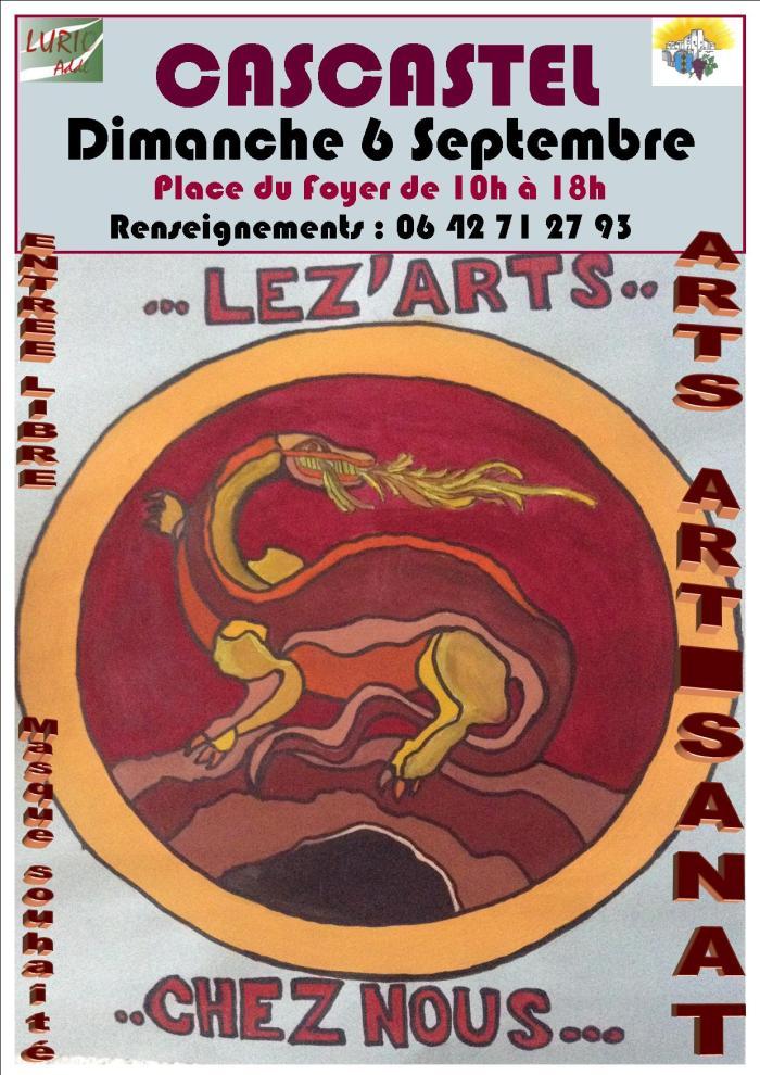 Affiche LeZ'Arts